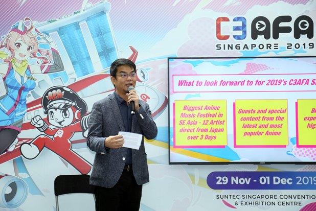 C3AFASG 2019 Media Conference Shawn Chin Managing Director of SOZO Opening Speech