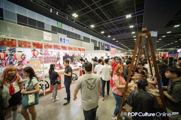 C3 Anime Festival Asia Singapore 2019 Food Street