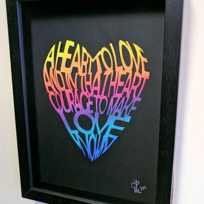 A heart to love
