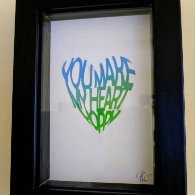 You make my heart hoppy – multicoloured