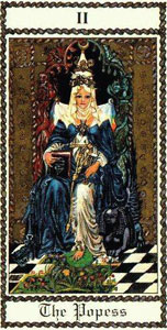 From the Scapini Medieval Tarot, (US Games Systems)