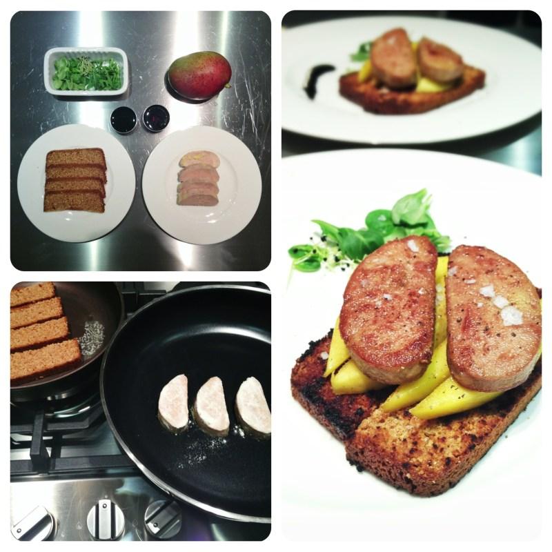 foie gras mango