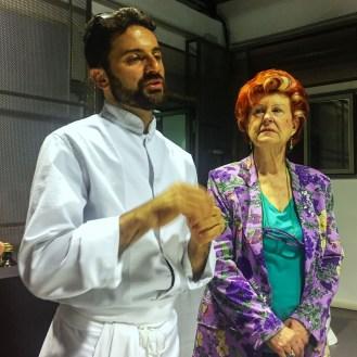 Enoteca Pinchiorri Luca Lacalamita e Annie Feolde