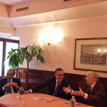 Antonio Bechi, Roberto Focardi e Umberto Cecchi Harry's Bar Firenze