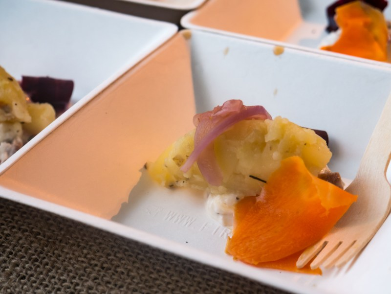 Patate Fondenti al topinambur e tartufo bianco