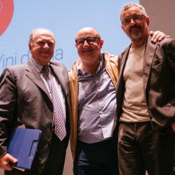 Enzo Vizzari, Ciccio Sultano, Mauro Uliassi