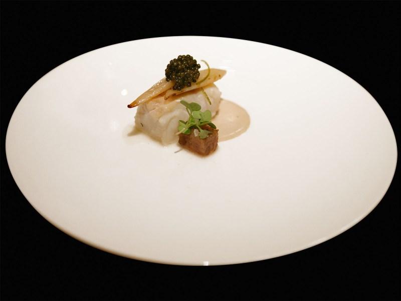 Enoteca Pinchiorri - Scorzonera, merluzzo, caviale