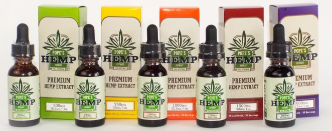 Hemp Extract with Boxes Header