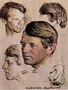 Rockwell RFK sketches.