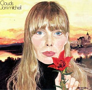 "Joni Mitchell's 2nd studio album, ""Clouds,"" released in May 1969, also featured her artwork on the cover."