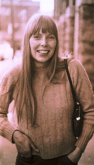 1969: Joni Mitchell, Nashville, TN, possibly in May for the Johnny Cash Show taping.