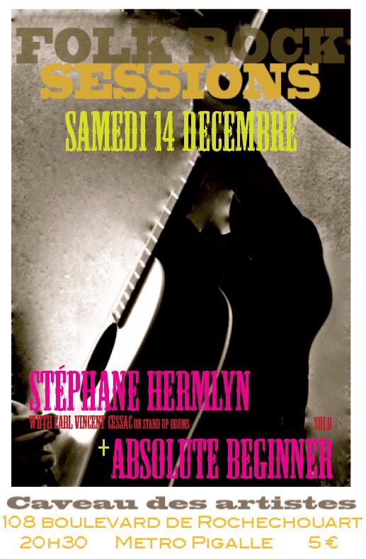 131214 Absolute Beginner & Stéphane Hermlyn