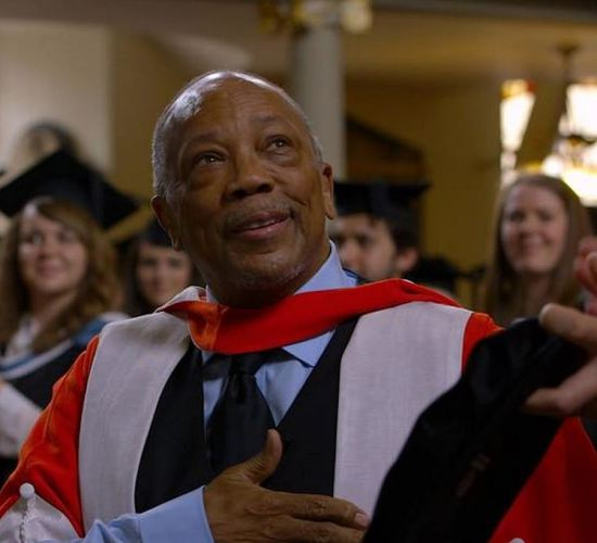 Quincy Jones Honorary Doctorate this week from The Royal Academy of Music