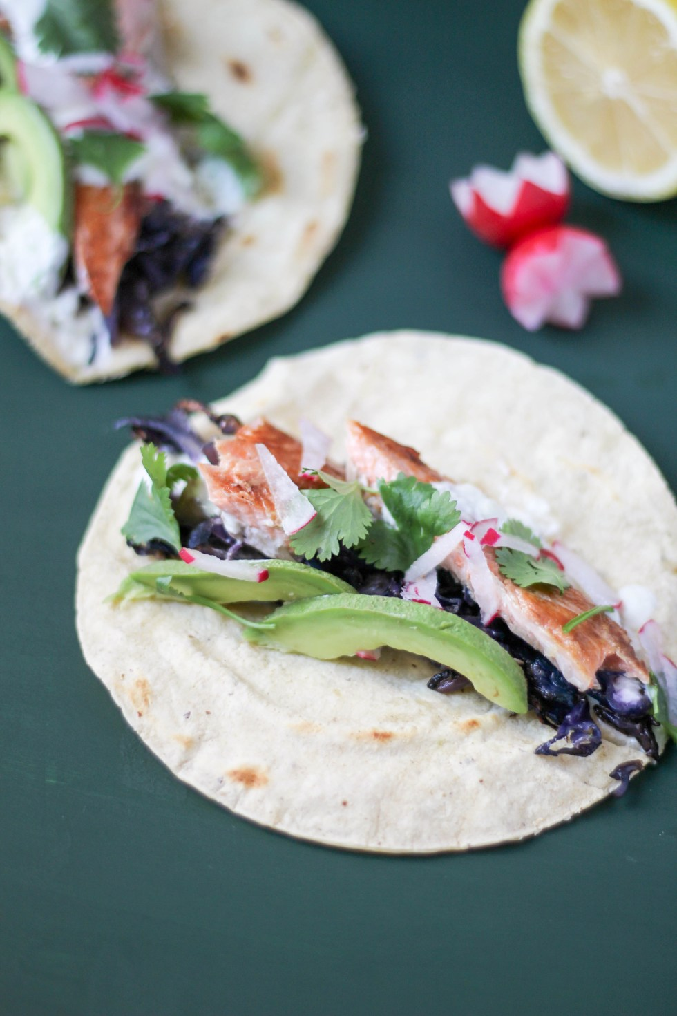 Smoked Rainbow Trout Tacos With Ginger Cream Pop Kitchen