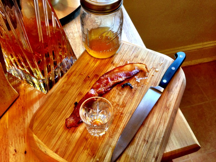 Bacon Bourbon board