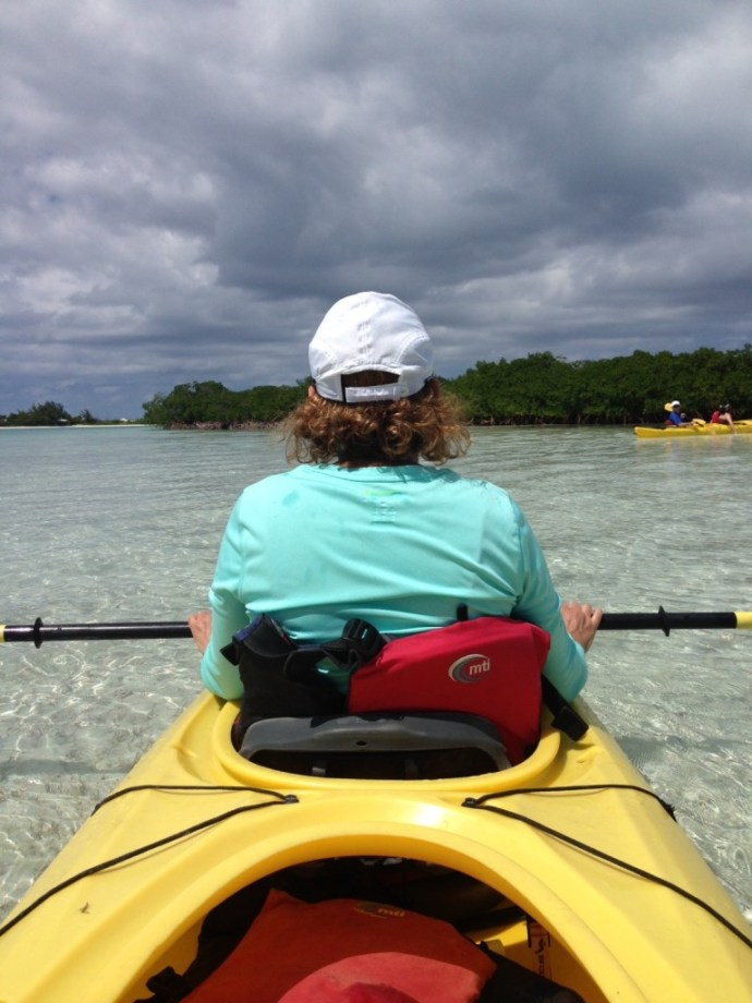 Kayaking with Big Blue Unlimited