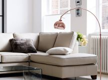 Arco Floor Lamp Gives A Modern Look To Your Living Room ...