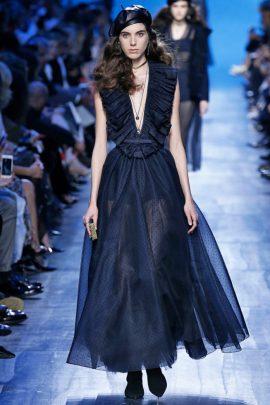 desfile Christian Dior paris 2017