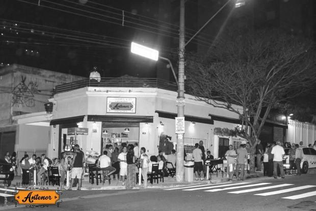 fachada antiga do antenor bar e restaurante