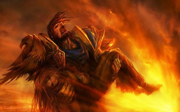 warcraft-paladin-fanart-grief
