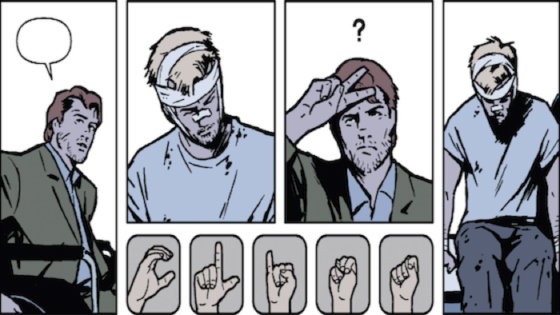Hawkeye-Sign-Language