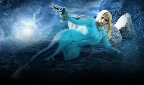 Ivy Doomkitty as Zero Suit Samus (photo: Frank Peralta / edit: SGH PhotoArt)