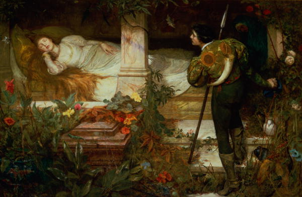 Sleeping-Beauty-Edward-Frederick-Brewtnall