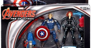 """Marvel Avengers Age of Ultron Age of Ultron Captain America & Black Widow Exclusive 3 3/4"""" Action Figure 2-Pack"""
