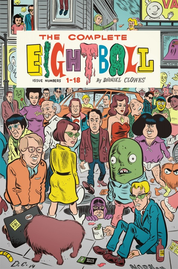 daniel clowes the complete eightball july 4
