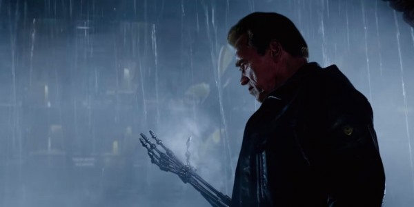 There are a couple of cool set-ups early in 'Terminator: Genisys.' Image: Paramount Pictures