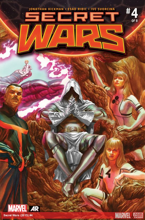 Secret Wars #4 Marvel Comics