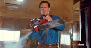 ash vs evil dead bruce campbell chainsaw