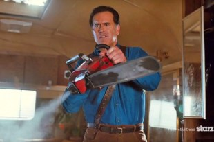 ash vs evil dead bruce campbell chainsaw