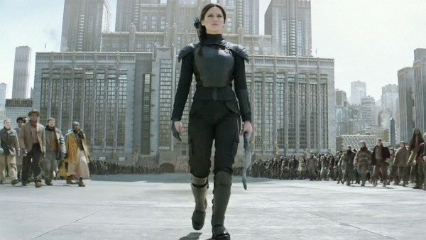 Remember how 'Mockingjay Part 1' didn't have a tribute parade? Well 'Part 2' kinda does. (Image: Lionsgate Films)
