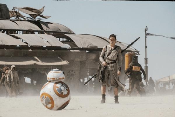 On the dark side, the beginning of the film feels like a retread of the beginning of the first. Image: Walt Disney Studios.