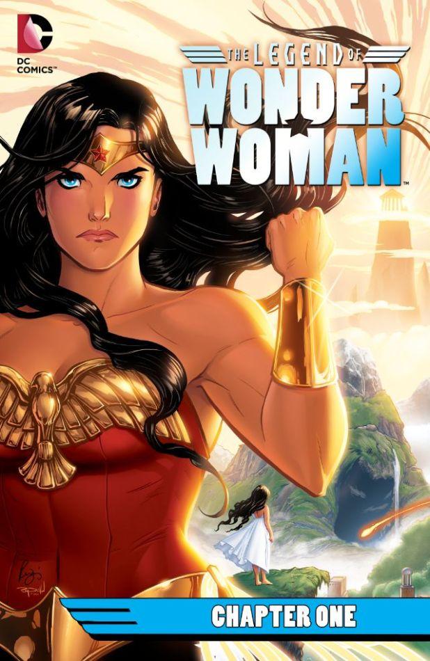 legend of wonder woman 1