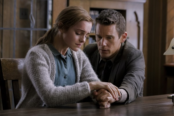 Emma Watson and Ethan Hawke Photo Credit_ Elevation Pictures