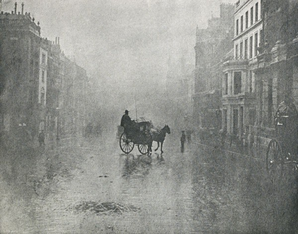 """""""Fine Day in London"""" (1896) by Hector Colard (photoseed.com)"""