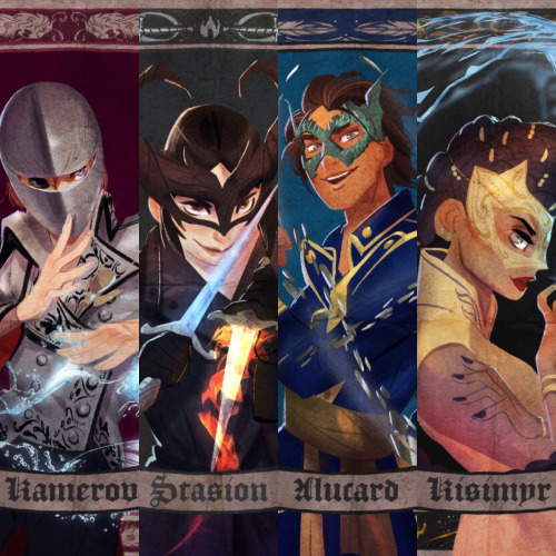 Promotional trading cards designed by Victoria Ying (AGOS)