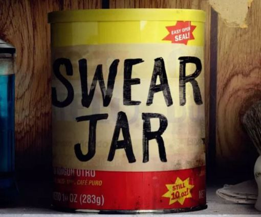 luke cage swear jar