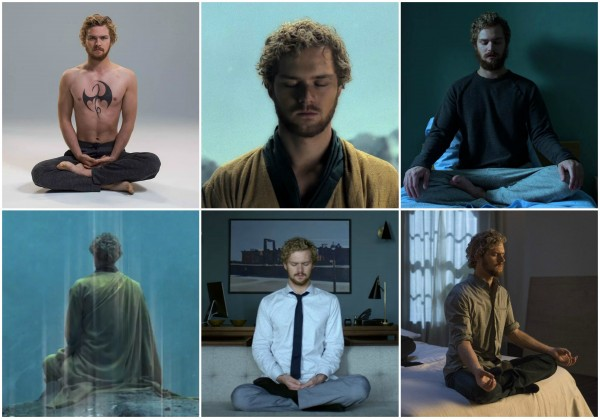 iron fist meditating