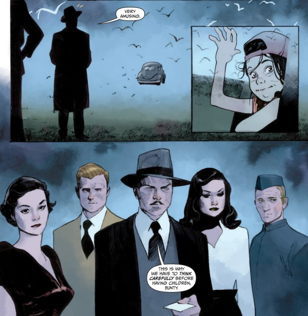 the magic order #5 - panel