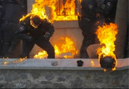 Febbraio, Kiev.
