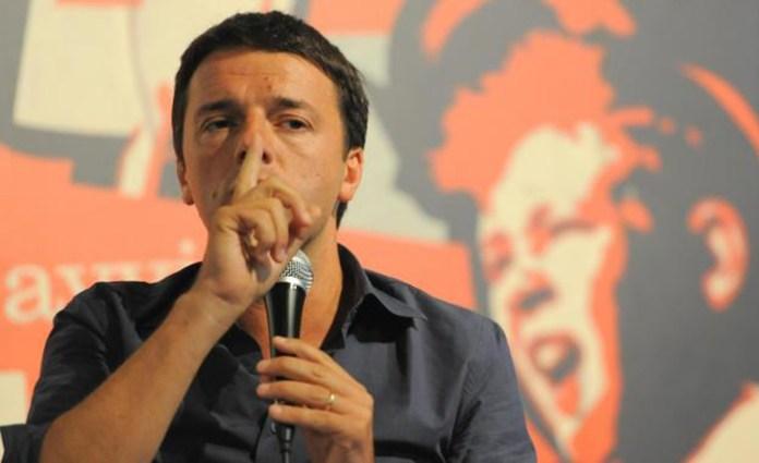 Il presidente del consiglio Matteo Renzi.