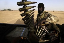 Militare della forza d'interposizione dell'Unione africana.