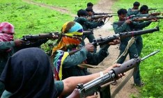 Maoisti in azione.