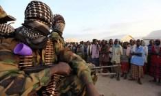 Guerriglieri della Jihad nella capitale, Mogadiscio.