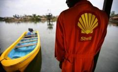 Un operaio della Shell.