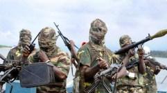 Guerriglieri di Boko Haram.