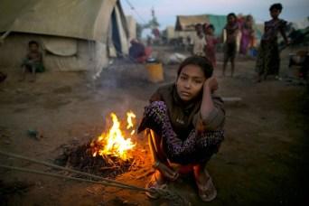 Campo profughi rohingya in Bangladesh.